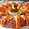 Пасхальное мясное кольцо с перепелиными яйцами по-польски