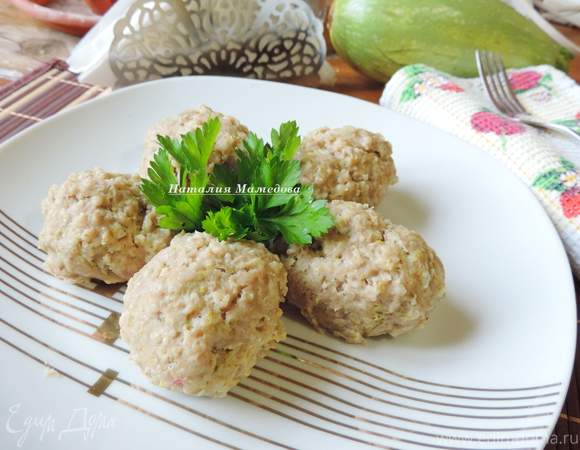 Сочные кабачково-мясные котлеты