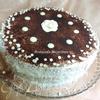 """Бисквитный торт с персиками """"Счастье в простых вещах"""""""