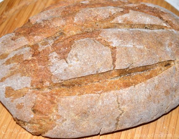 Хлеб на темном пиве с анисом