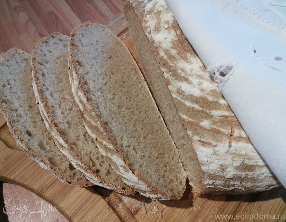 """Хлеб на двойной биге """"Кефирная корочка"""""""