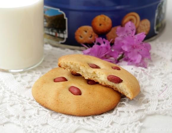 Печенье с медом и арахисом