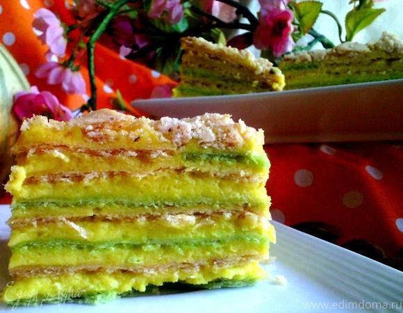 """Торт """"Восточный Наполеон"""""""