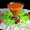 Напиток из ревеня, ананаса и киви