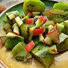 Смузи из ревеня, киви и банана