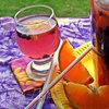 Напиток чернично-цитрусовый