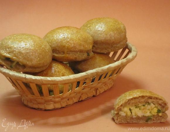 Пирожки из цельнозерновой муки