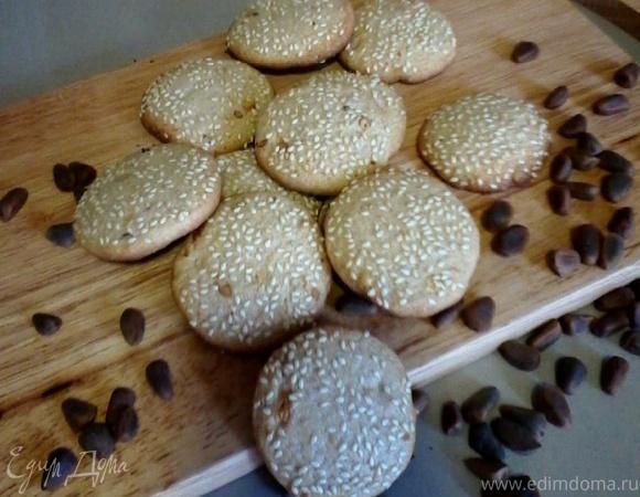 Ароматное хрустящее печенье