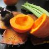 Салат с тыквой, свеклой и сельдереем