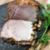 Запечённая свинина с карамелизированной корочкой
