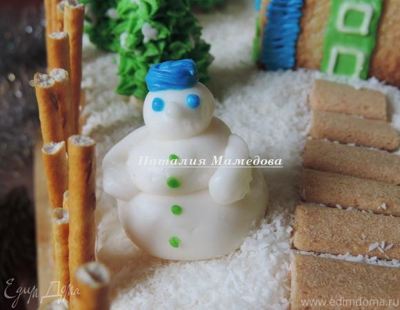 Торт «Зимняя сказка»