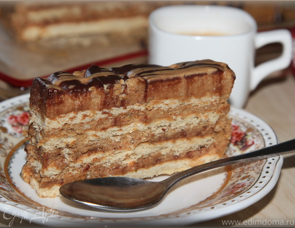 Кофейный тортик без выпечки