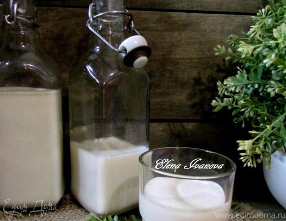Ягодно-фруктовый смузи на овсяном молоке