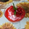 Творожный десерт «Малина на снегу»