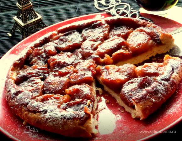 Французский перевернутый пирог «Тарт Татен»