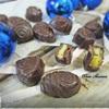 Шоколадные конфеты с персиковым муссом