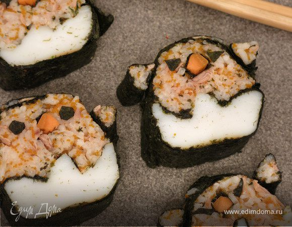 Суши с тунцом «Кадзари»