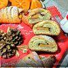 «Рождественский венок» на творожном тесте