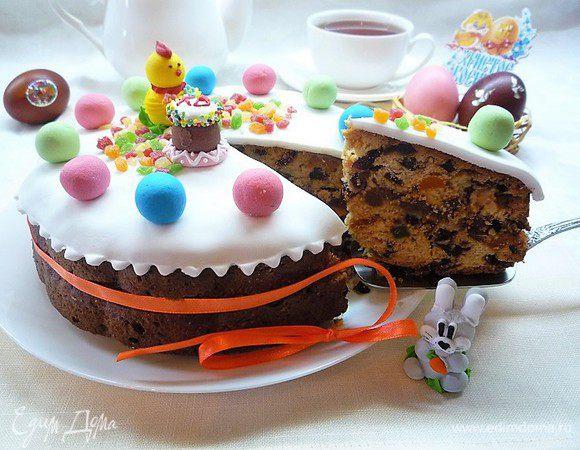 Пасхальный кулич-кекс Симнель (Easter Simnel Cake)