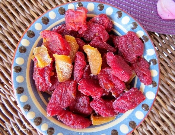 Десертные вяленые томаты