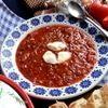 Легкий свекольный суп (без картошки)