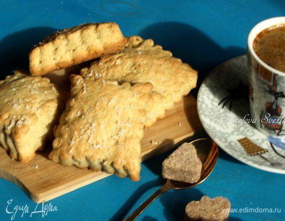 Закусочное горчично-сырное печенье