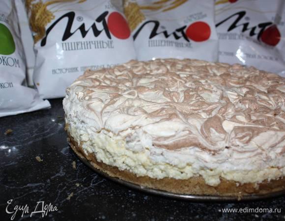 Торт с узорами