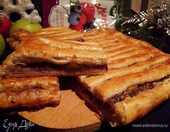 Пирог «Жалюзи»