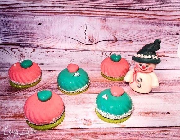 Муссовый десерт «Малиновый рай»