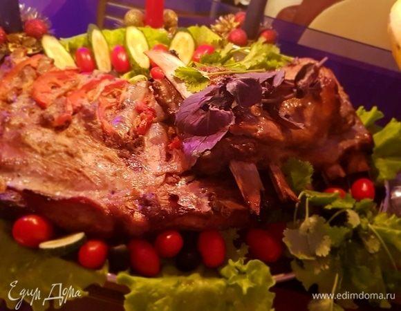 Ребрышки праздничные под горчично-медовым соусом