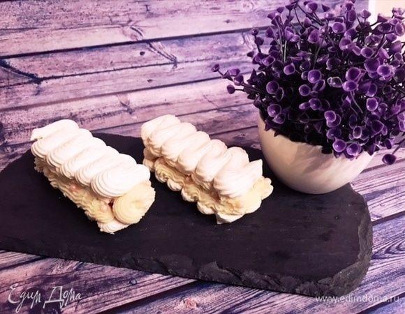 Пирожные «Павлова» с кокосовым кремом