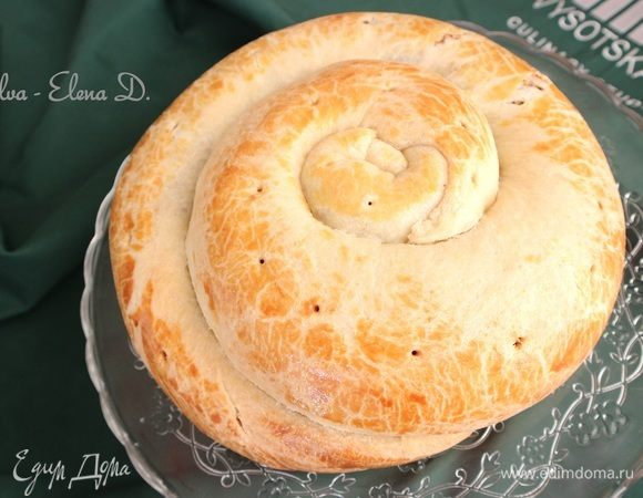 Итальянский праздничный пирог «Губана»