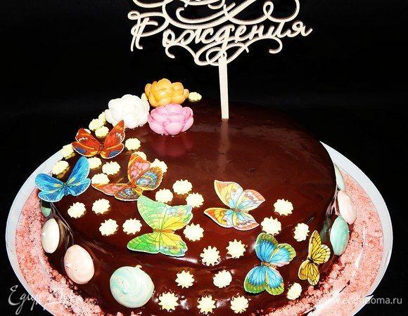 Торт «Сникерс» с фундуком