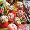 Овсяные маффины с арахисом и яблоками