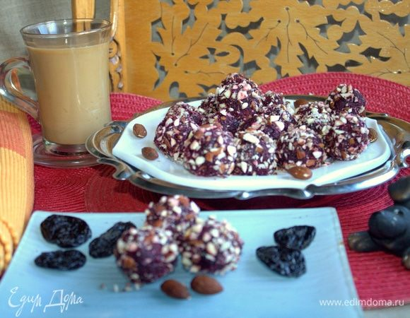 Свекольные конфеты