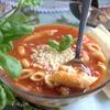 Томатно-фасолевый итальянский суп
