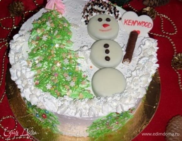 Торт «Новогодняя мечта»