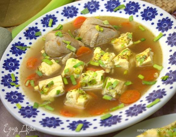 Праздничный немецкий суп