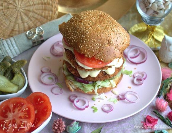 «Золотой» гамбургер
