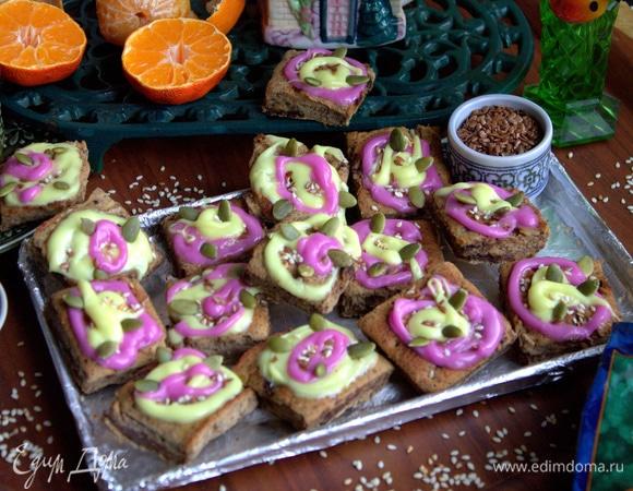 Печенье из чечевицы с шоколадом (без муки)