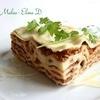 Лазанья «Болоньезе» с мясным рагу