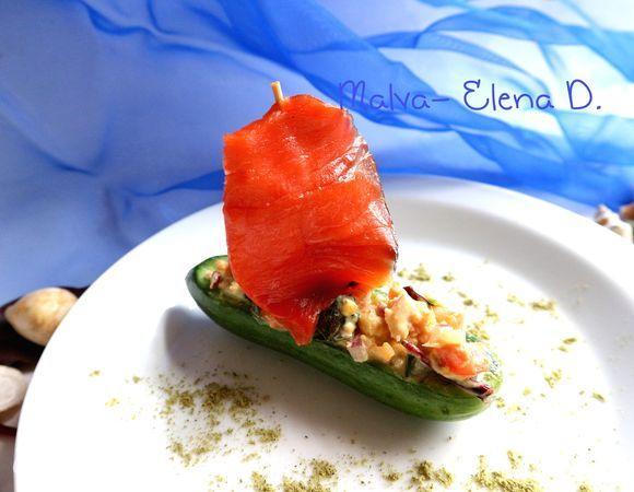 Салат «Алые паруса»