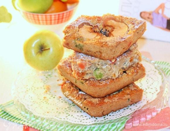 Имбирный пирог с яблоками