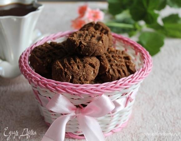 Гречневое печенье с финиками