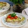 Пирог с рикоттой и брокколи