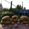 Гамбургер с сайрой
