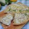 Луковый пирог с картофелем