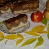 Пляцок с яблоками «Дунайские волны»