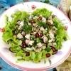 Имеретинский салат из курицы
