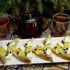 Бутерброды «Зимний цвет»